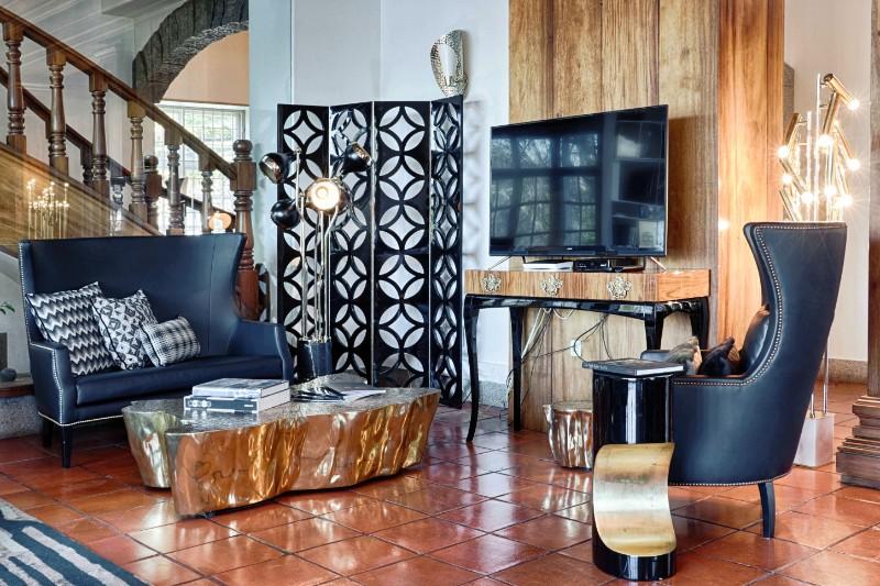 interior design Covet House Douro: An Unique Interior Design Experience Covet House living area