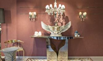 art pieces Lladró Showroom's Decor With Boca do Lobo Fine Art Pieces cover 2 335x201