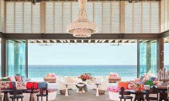 luxury hotel Pink & Vibrant Luxury Hotel in Mexico by Ken Fulk and Víctor Legorreta cover hotel mexico 335x201