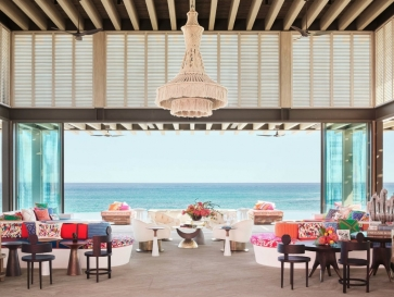 Pink & Vibrant Luxury Hotel in Mexico by Ken Fulk and Víctor Legorreta