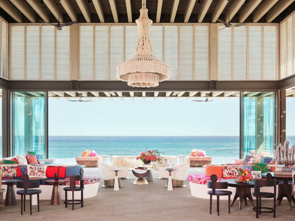 luxury hotel Pink & Vibrant Luxury Hotel in Mexico by Ken Fulk and Víctor Legorreta cover hotel mexico