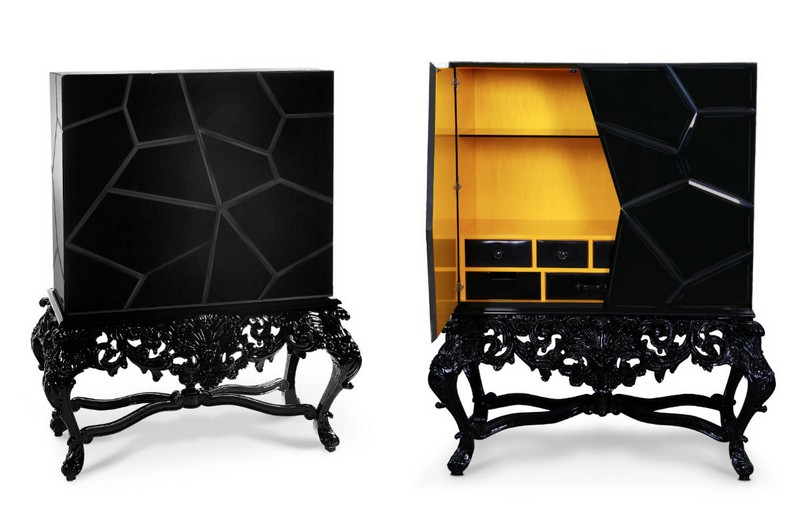 furniture design Dark & Dramatic Furniture Design with Lavish Flair dark furniture desing inspirarions 17