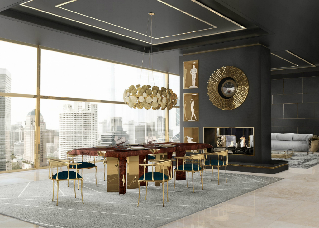 Interior Design Ideas For A Glamorous Dining Room