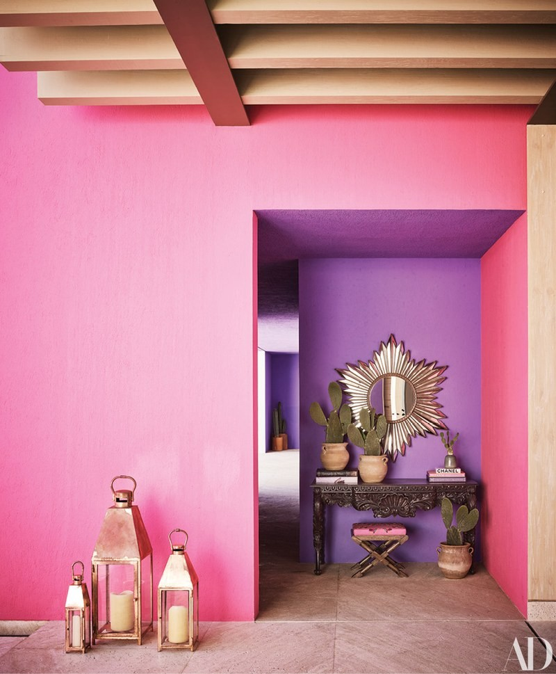 luxury hotel Pink & Vibrant Luxury Hotel in Mexico by Ken Fulk and Víctor Legorreta hotel mexico inspirations1