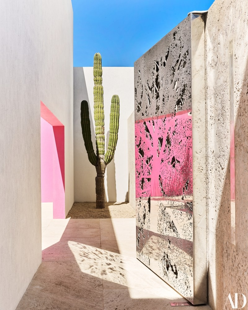 luxury hotel Pink & Vibrant Luxury Hotel in Mexico by Ken Fulk and Víctor Legorreta hotel mexico inspirations3