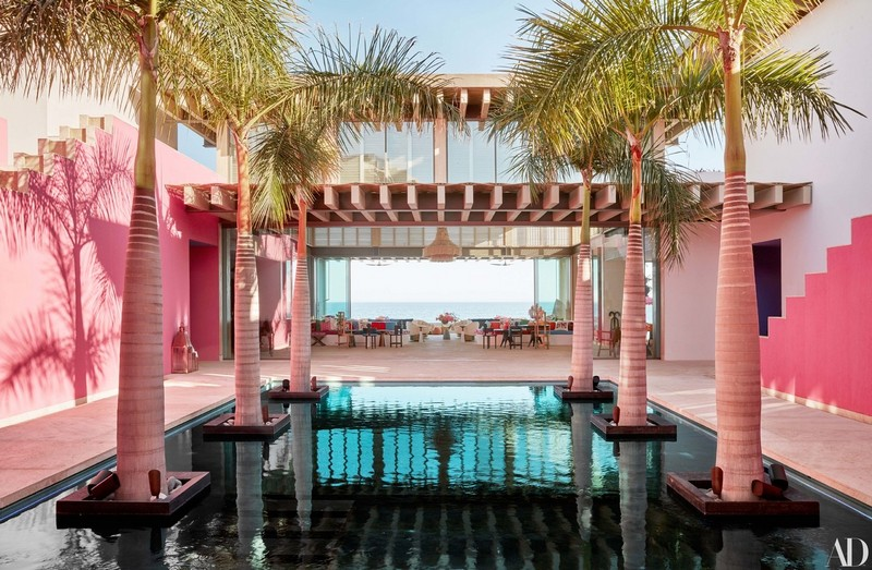 Pink & Vibrant Luxury Hotel in Mexico by Ken Fulk and Víctor Legorreta luxury hotel Pink & Vibrant Luxury Hotel in Mexico by Ken Fulk and Víctor Legorreta hotel mexico inspirations4