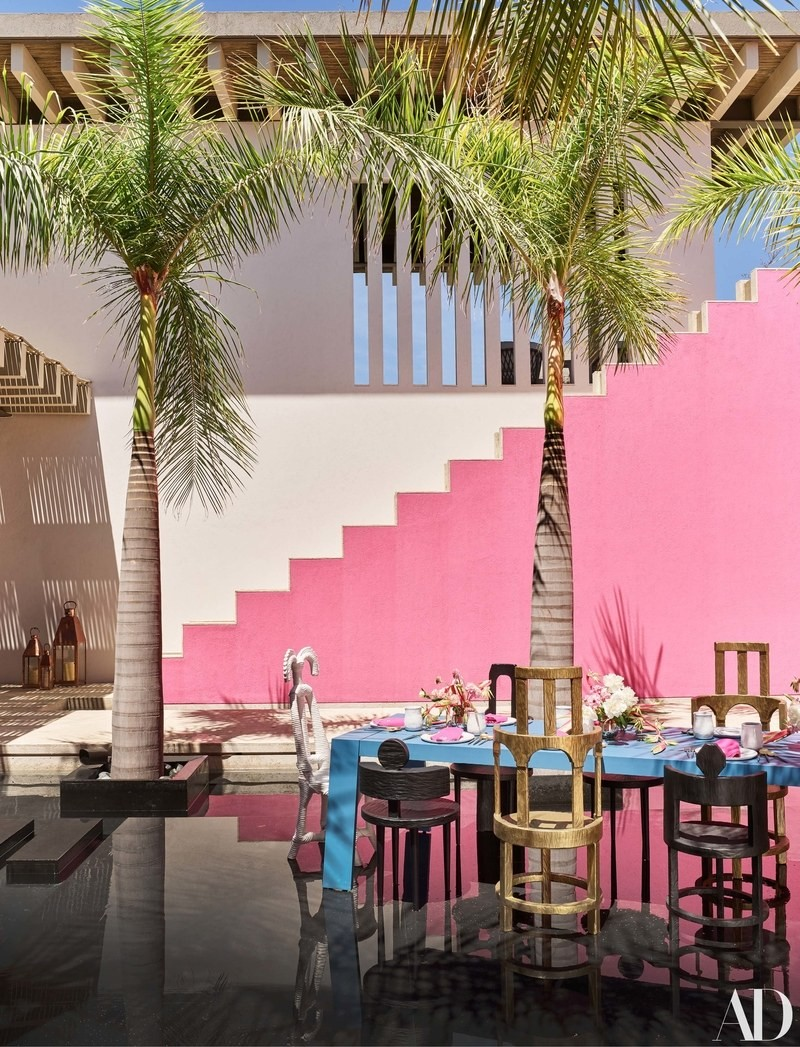 Pink & Vibrant Luxury Hotel in Mexico by Ken Fulk and Víctor Legorreta luxury hotel Pink & Vibrant Luxury Hotel in Mexico by Ken Fulk and Víctor Legorreta hotel mexico inspirations7