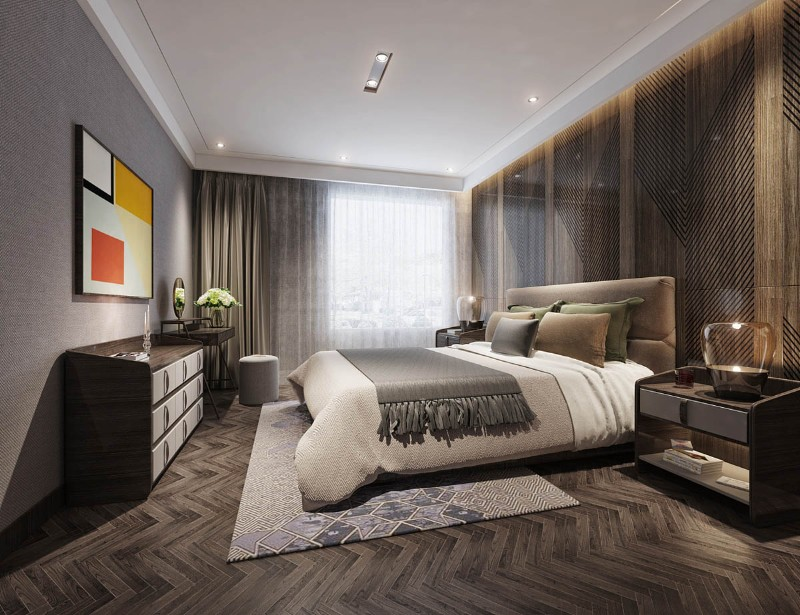 Luxury Home with an Asian Interior Design Luxury Home Luxury Home with an Asian Interior Design luxury bedroom decor