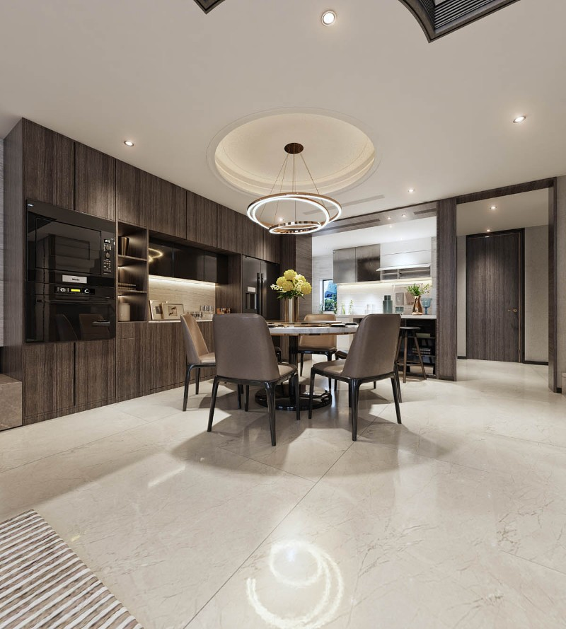 Luxury Home with an Asian Interior Design Luxury Home Luxury Home with an Asian Interior Design marble flooring