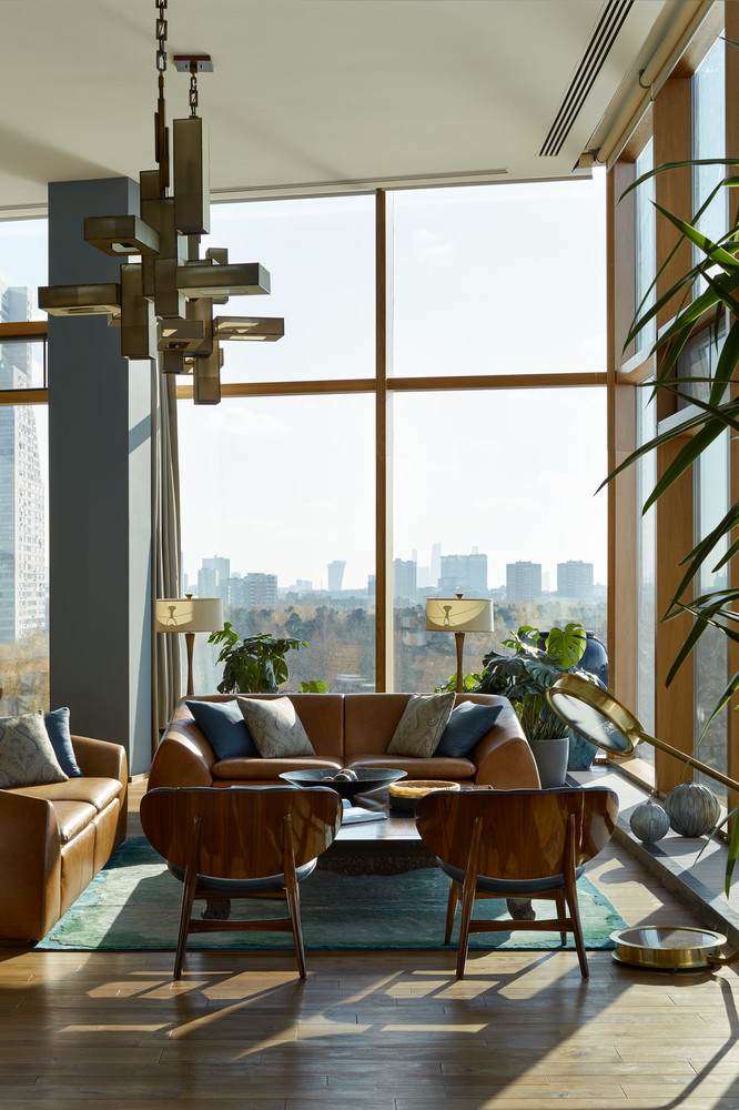 Apartment with Stunning Views and ModernArchitecture in Moscow modernarchitecture Apartment with Stunning Views and ModernArchitecture in Moscow moscow apartment inspirations 12