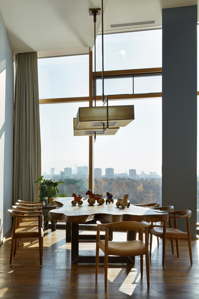 modernarchitecture Apartment with Stunning Views and ModernArchitecture in Moscow moscow apartment inspirations 14