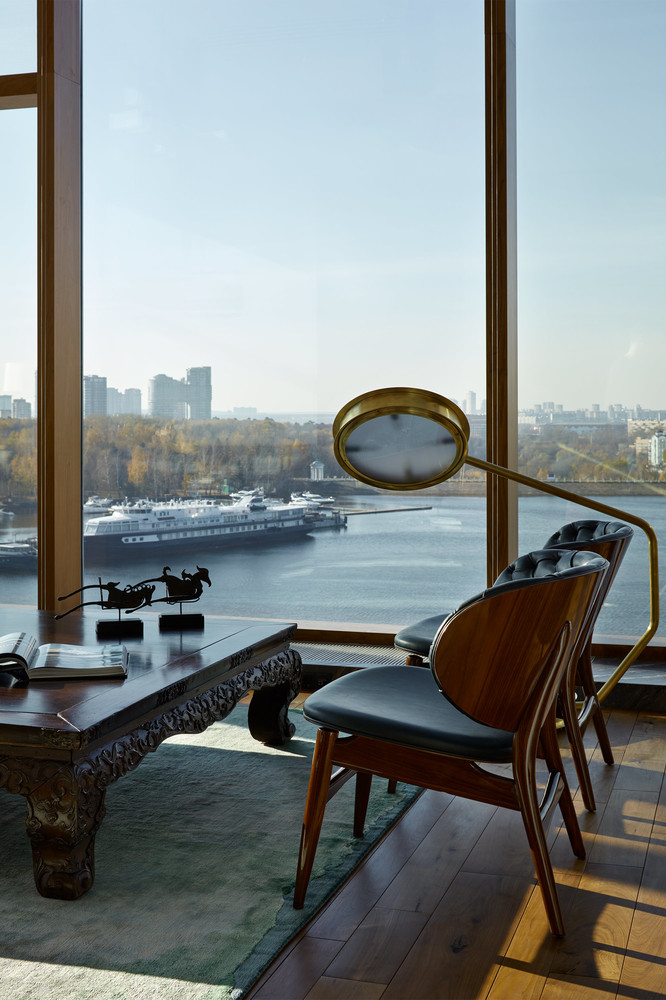 modern architecture Apartment with Stunning Views and Modern Architecture in Moscow moscow apartment inspirations 16