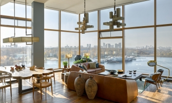 modernarchitecture Apartment with Stunning Views and ModernArchitecture in Moscow moscow apartment inspirations 3 335x201