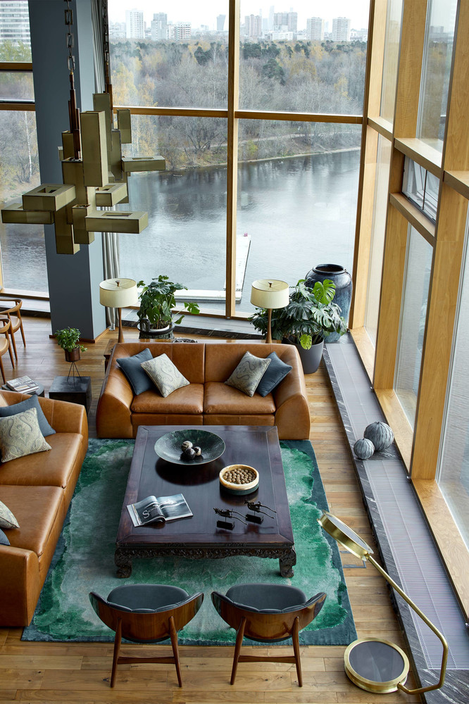 Apartment with Stunning Views and ModernArchitecture in Moscow modernarchitecture Apartment with Stunning Views and ModernArchitecture in Moscow moscow apartment inspirations 9