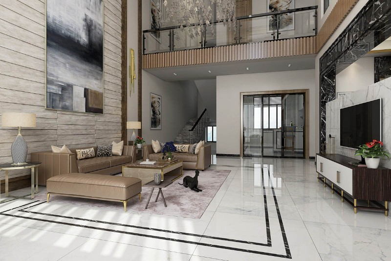 Luxury Home With An Asian Interior Design