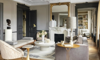contemporary Romantic and Contemporary Parisian Apartment by Anne-Sophie Pailleret cover 335x201