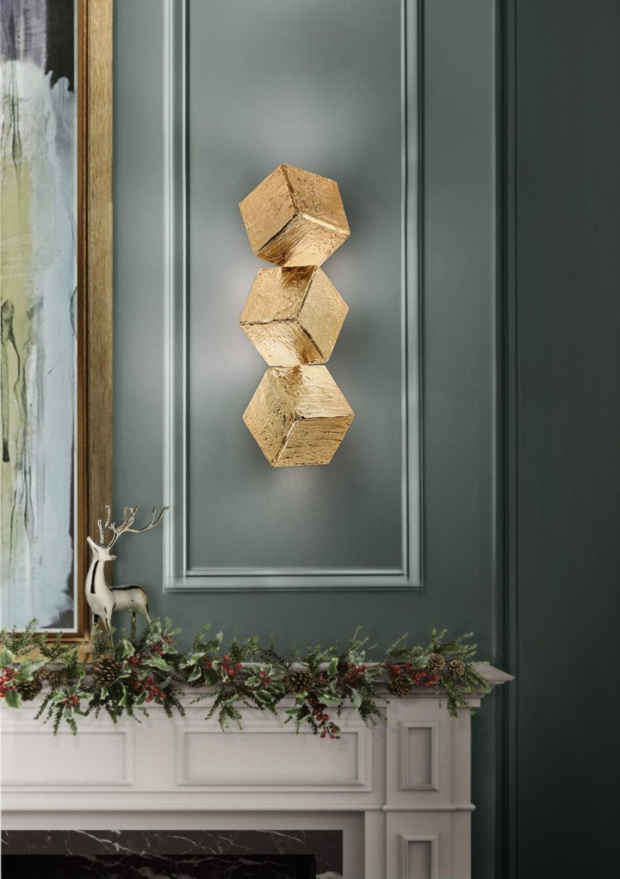 christmas decoration ideas Get The Look: Christmas Decoration Ideas With Boca do Lobo cubic wall 1