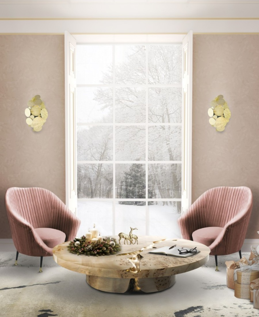 christmas decoration ideas Get The Look: Christmas Decoration Ideas With Boca do Lobo empire center table chirstmas 1