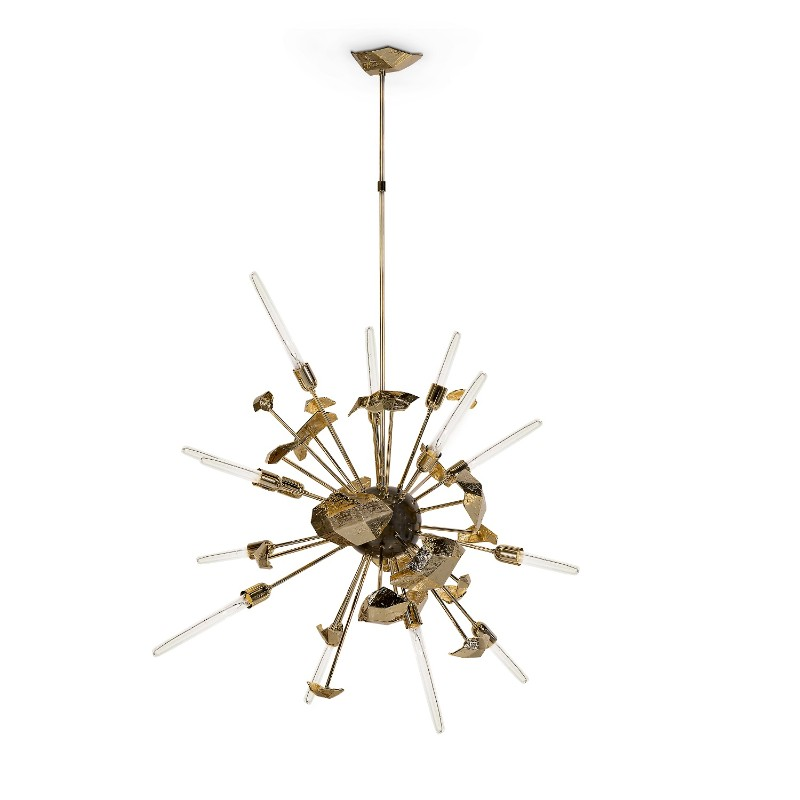 furniture First Preview Of The Most Waited Furniture Showroom: Covet NY supernova chandelier 01