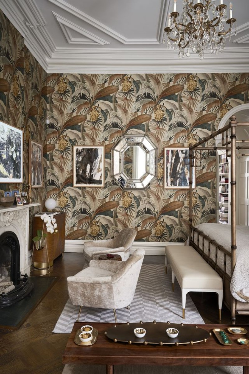 interior design interior design An Elegantly Theatrical New York City Interior Design bedroom 2 1537453946