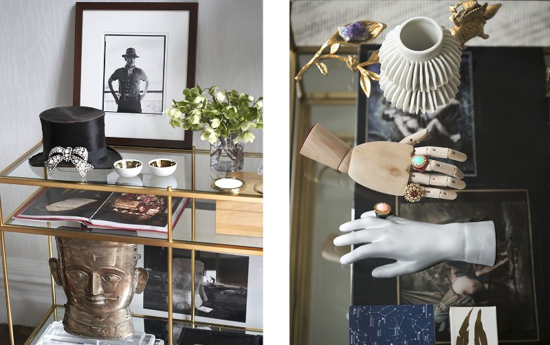 interior design An Elegantly Theatrical New York City Interior Design console and hand 1537454230