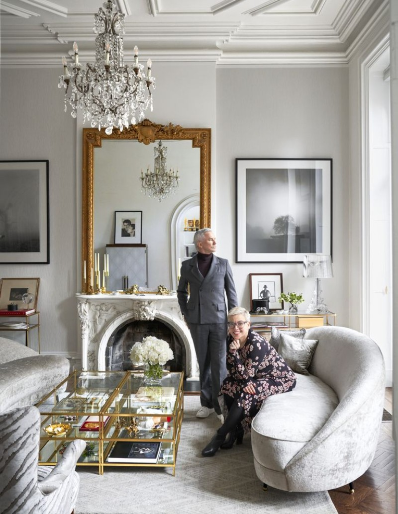 interior design An Elegantly Theatrical New York City Interior Design edc090118luhrmann07 1537453320