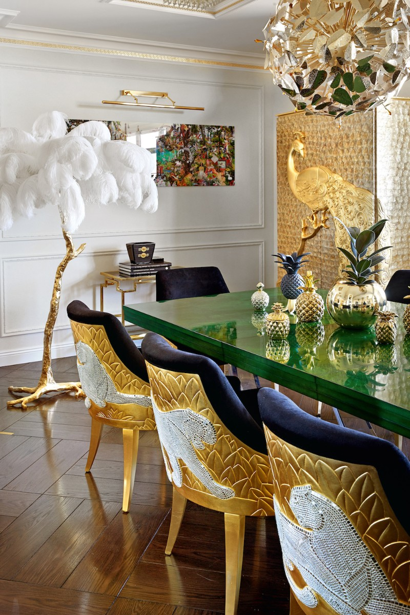 interior design An Eccentric Interior Design by Tatiana Mironova original 2