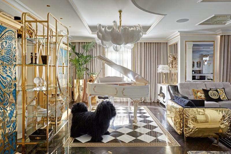 An Eccentric Interior Design by Tatiana Mironova interior design An Eccentric Interior Design by Tatiana Mironova original 3
