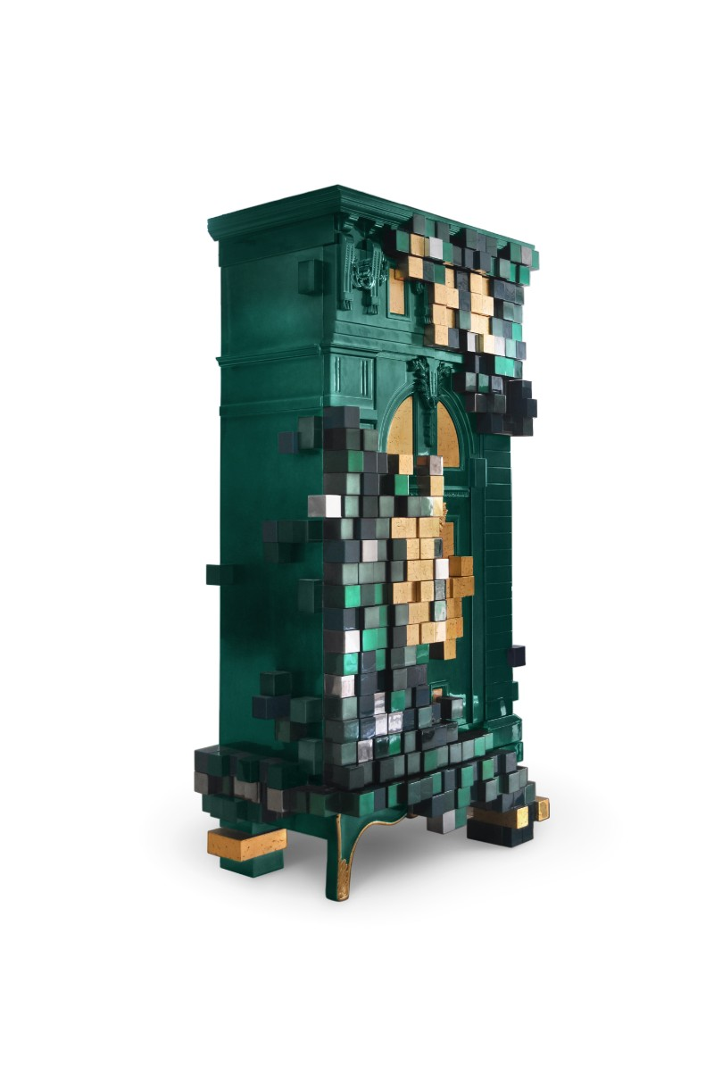 Pantone Color of the Year The Pantone Color of the Year 2019 Is Officially Released piccadilly ecletic green cabinet boca do lobo 02 1