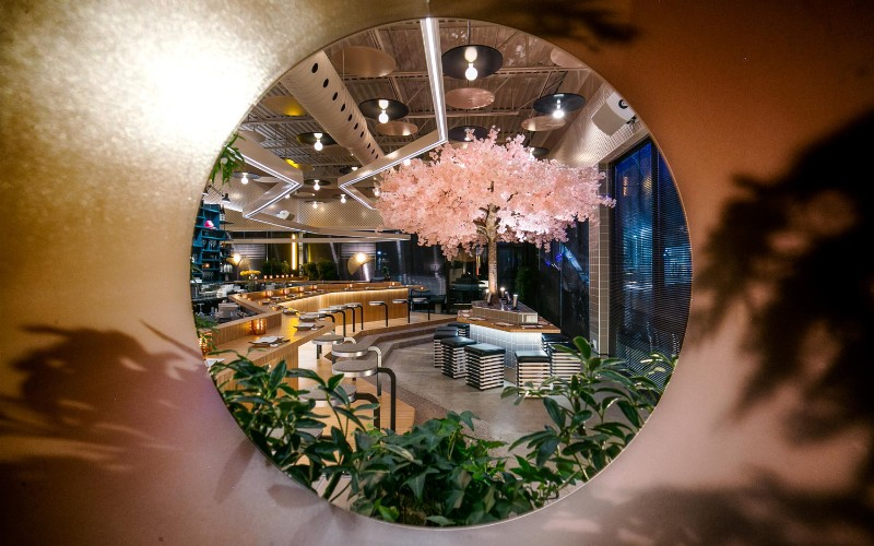 restaurant design Le Blossom: A Japanese Restaurant Design by Ménard Dworkind Le Blossom A Japanese Restaurant Design by M  nard Dworkind 4