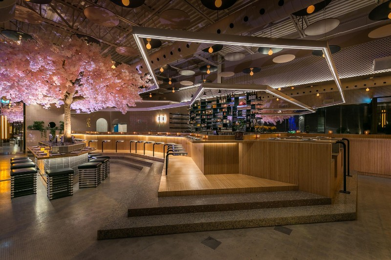 restaurant design Le Blossom: A Japanese Restaurant Design by Ménard Dworkind Le Blossom A Japanese Restaurant Design by M  nard Dworkind
