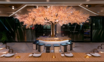 restaurant design Le Blossom: A Japanese Restaurant Design by Ménard Dworkind Le Blossom by MENARD DWORKIND architectur and design Yellowtrace 10 335x201