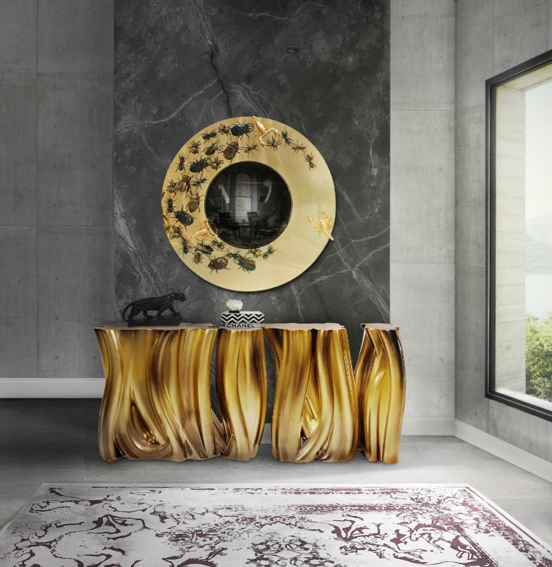 gold furniture gold furniture Trending Now: The Best Gold Furniture For Your Luxury Interior Design ambience monochrome gold boca do lobo