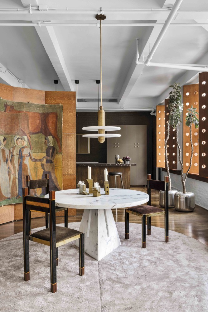 Opulent Loft in NY from the Top Interior Designers, Apparatus Top Interior Designers Opulent Loft in NY from the Top Interior Designers, Apparatus Studio apparatus interior design inspirations3
