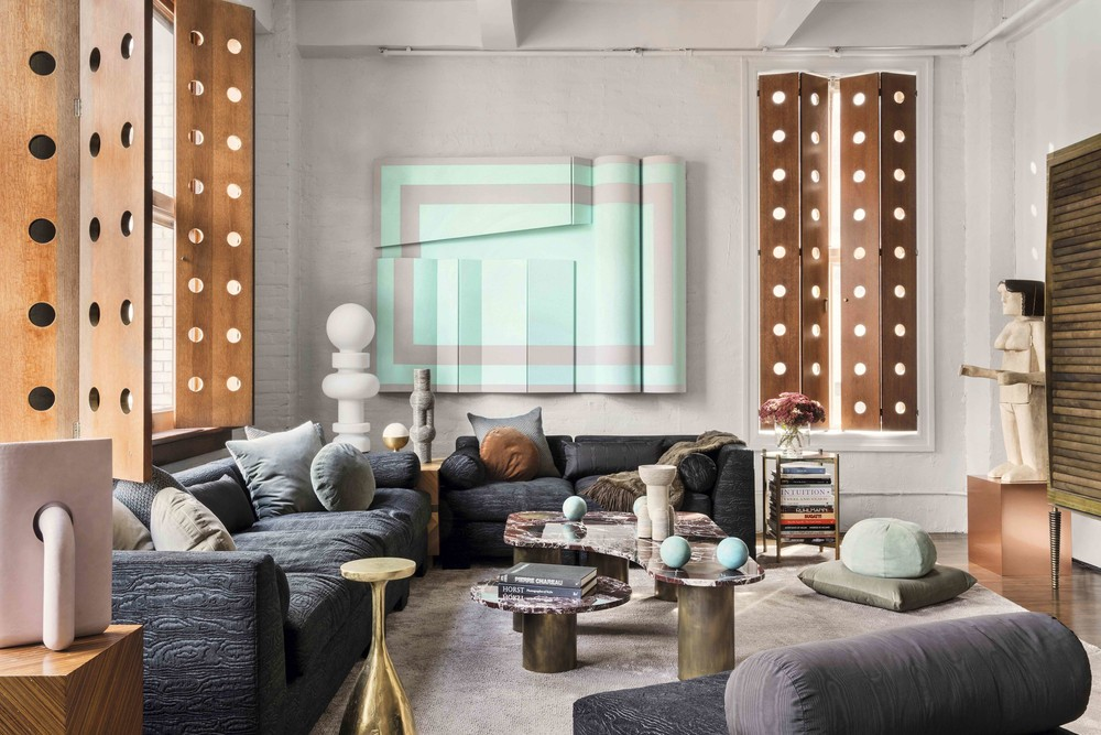 Top Interior Designers Opulent Loft In NY From The Top Interior Designers,  Apparatus Studio Apparatus