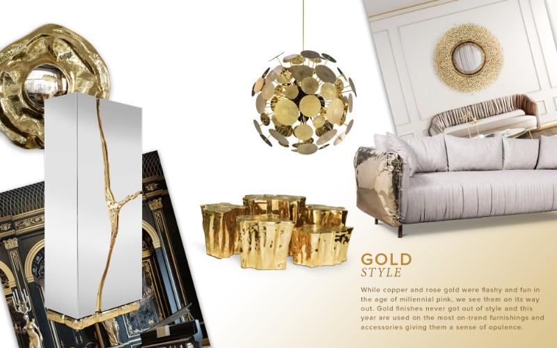 maison et objet Maison et Objet Newest Trends for 2019 gold style mood 2
