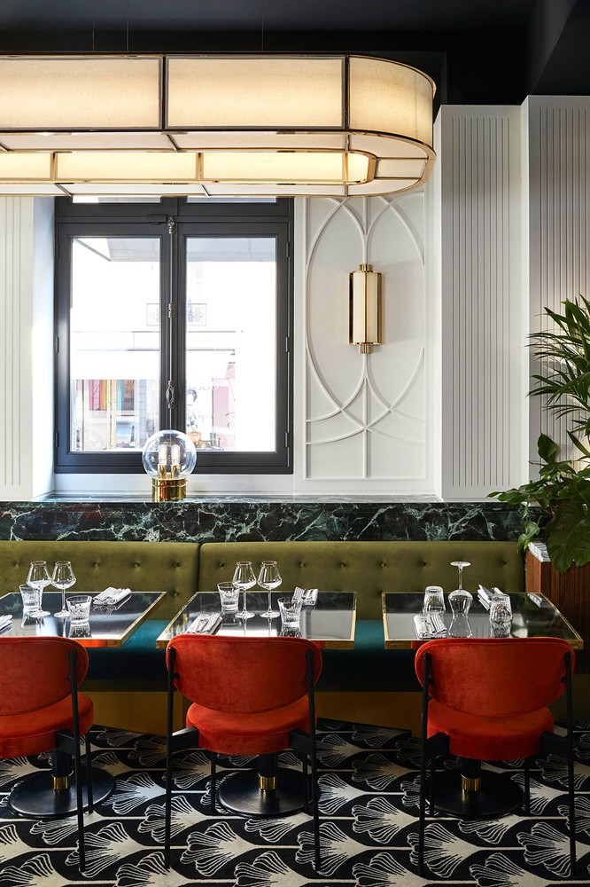 interior design Beefbar Paris, the New Jewel of Interior Design by Humbert & Poyet paris restaurant maison object 20191