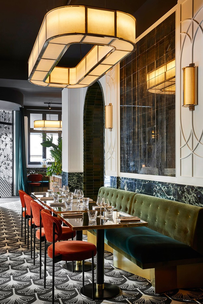 interior design Beefbar Paris, the New Jewel of Interior Design byHumbert & Poyet paris restaurant maison object 20192