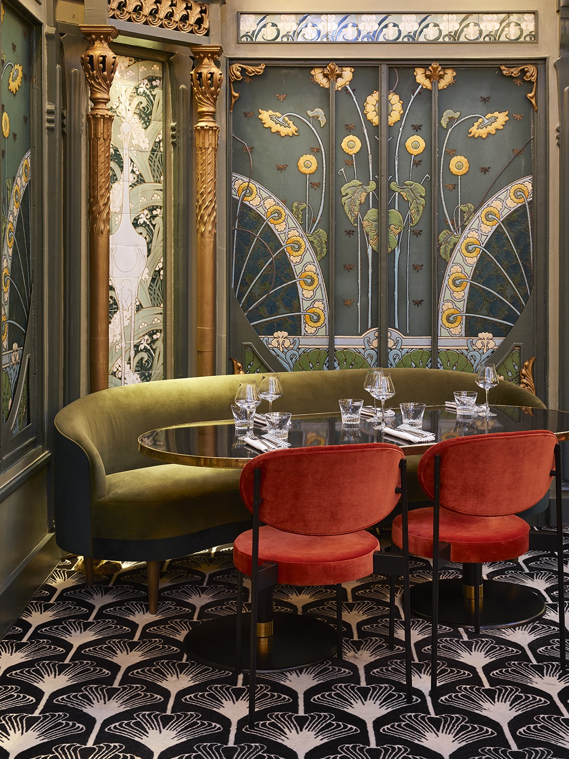 Beefbar Paris, the New Jewel of Interior Design by Humbert & Poyet interior design Beefbar Paris, the New Jewel of Interior Design by Humbert & Poyet paris restaurant maison object 20198