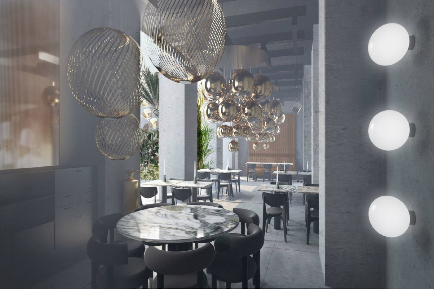 "tom dixon ""The Manzioni"" in Milan – A Restaurant Design Project by Tom Dixon    The Manzioni    in Milan     A Restaurant Design Project by Tom Dixon featured 1400x933"