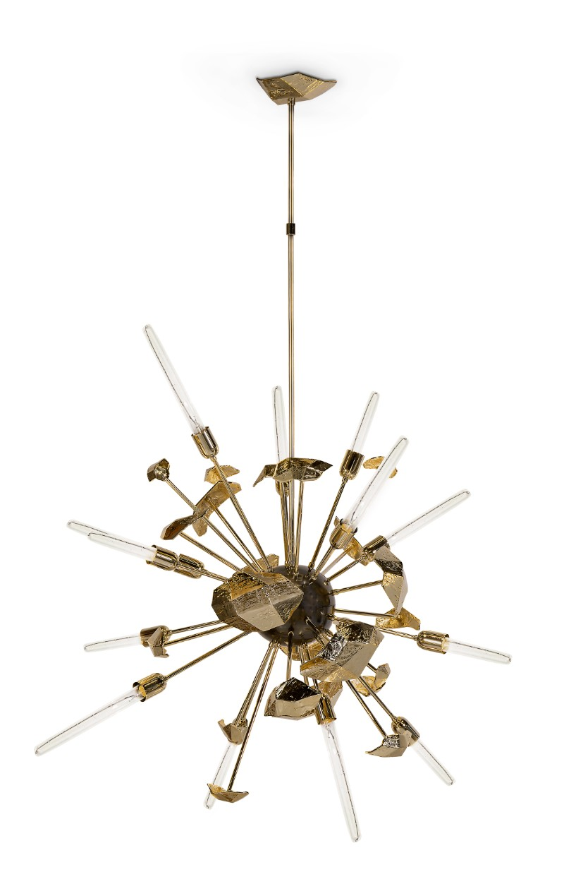 boca do lobo Boca do Lobo: The Art of Designing & Craft at Salone del Mobile 2019 supernova chandelier 01