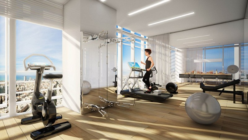 Inside Madonna's Stunning Luxury Penthouse in Tel Aviv luxury penthouse Inside Madonna's Stunning Luxury Penthouse in Tel Aviv 259B319500000578 2959790 There s no excuse not to exercise with a gym like this in your p a 15 1424419348373 2