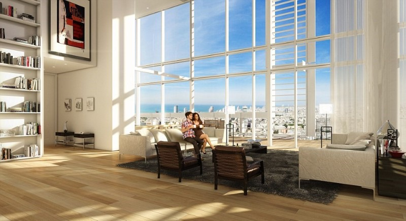 Inside Madonna's Stunning Luxury Penthouse in Tel Aviv luxury penthouse Inside Madonna's Stunning Luxury Penthouse in Tel Aviv 25D678A500000578 2959790 The 590ft high glass steel and white aluminum clad block holds 1 a 9 1424419348079 2