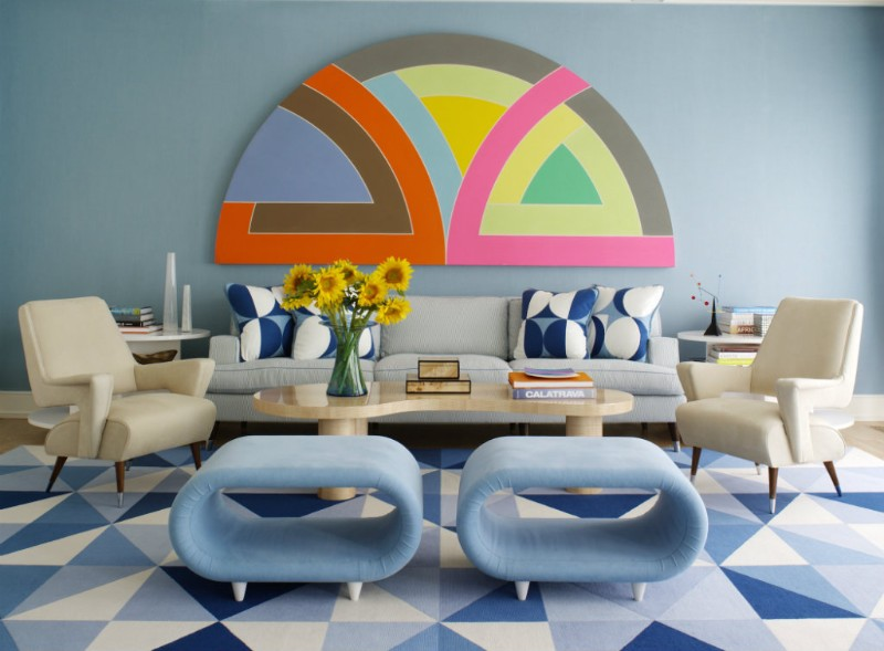 blue living room Top 11 Blue Living Room Designs by Best Interior Designers Anthony Baratta Frank Stella copy