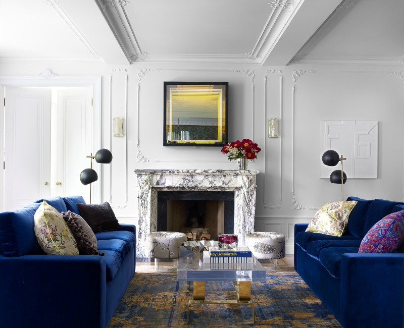 Top 11 Blue Living Room Designs By Best Interior Designers