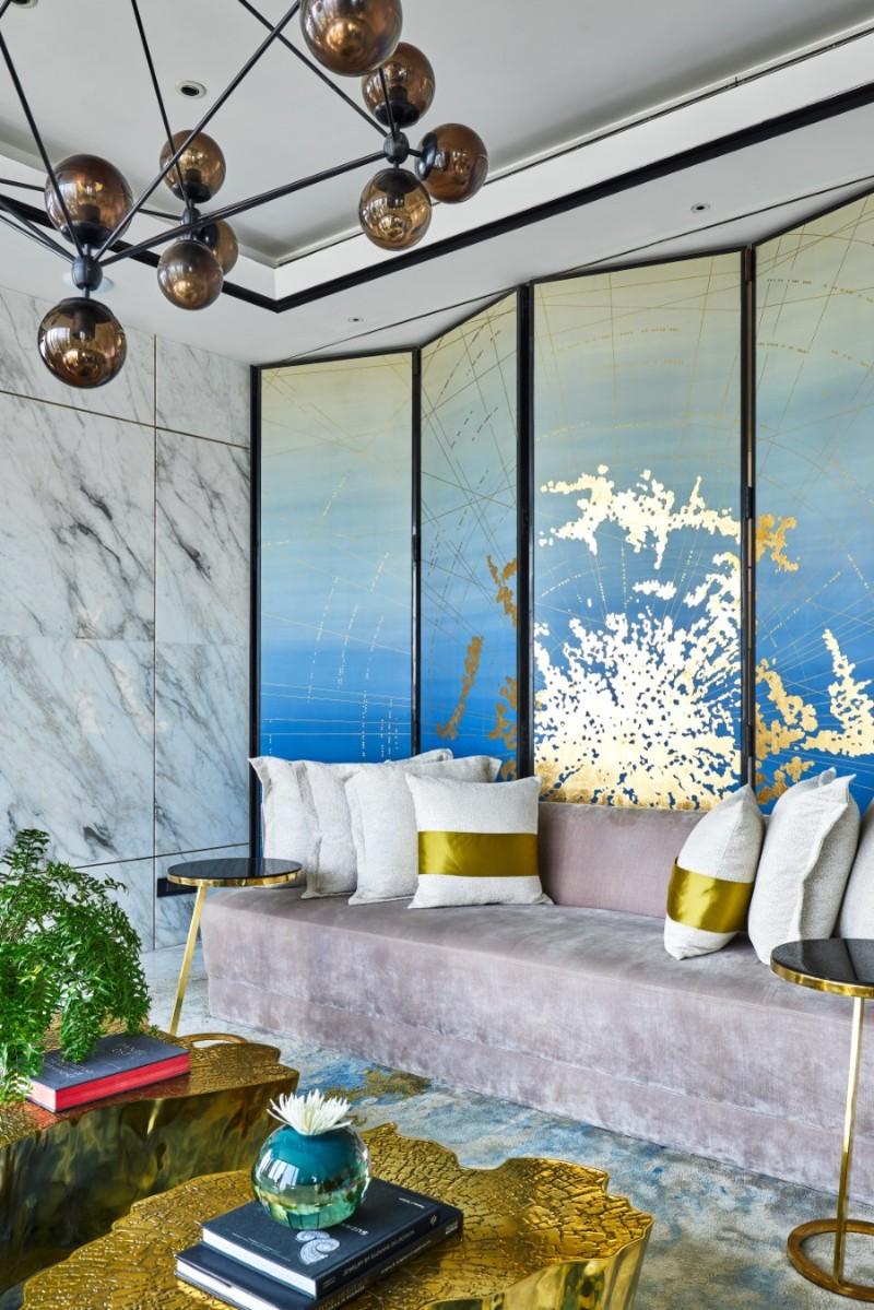 blue living room Top 11 Blue Living Room Designs by Best Interior Designers Inside Altamount Residence by Hirsch Bedner Associates 25