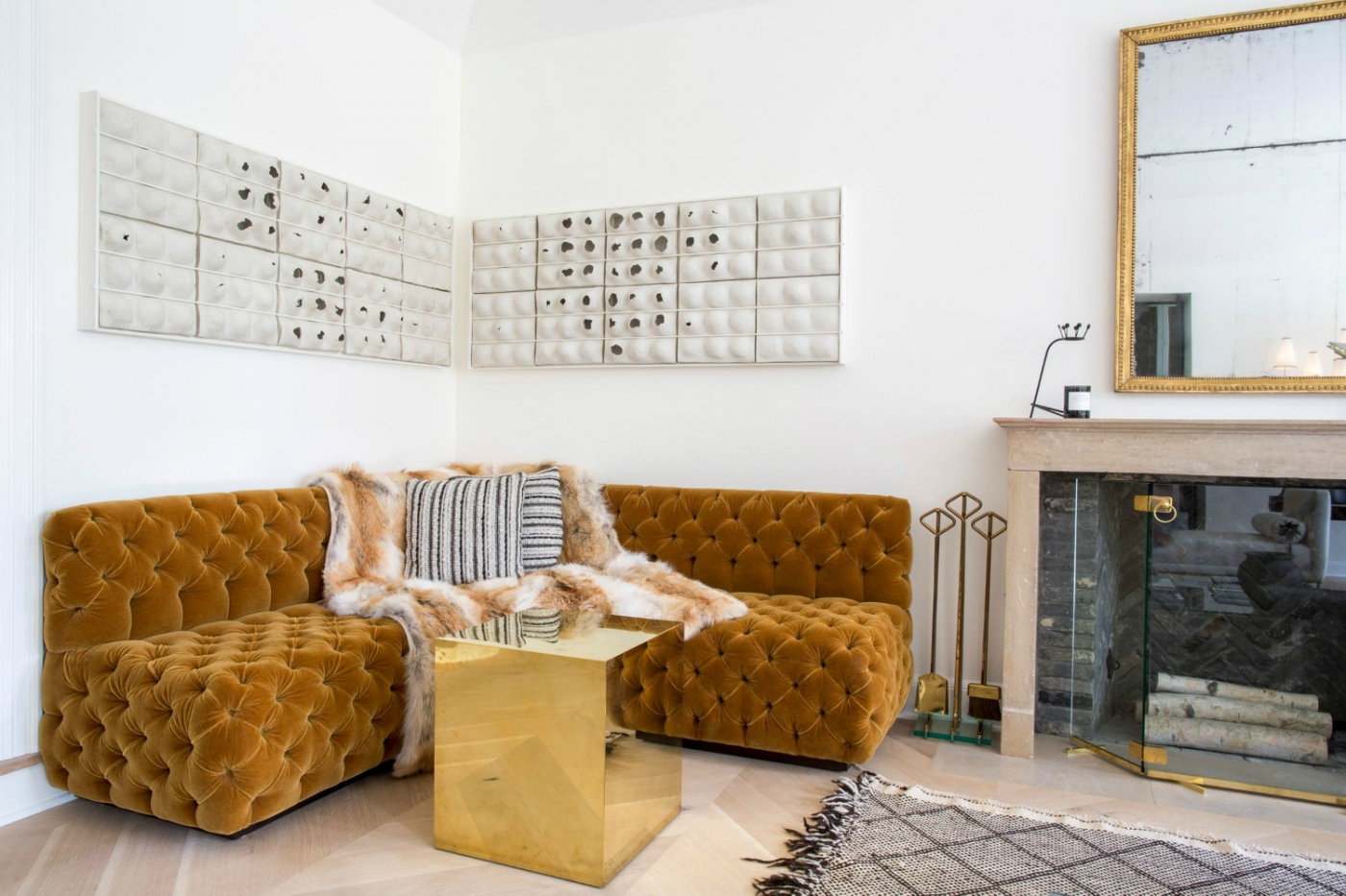 Turmeric Color One Of The Next Biggest Interior Design Trends