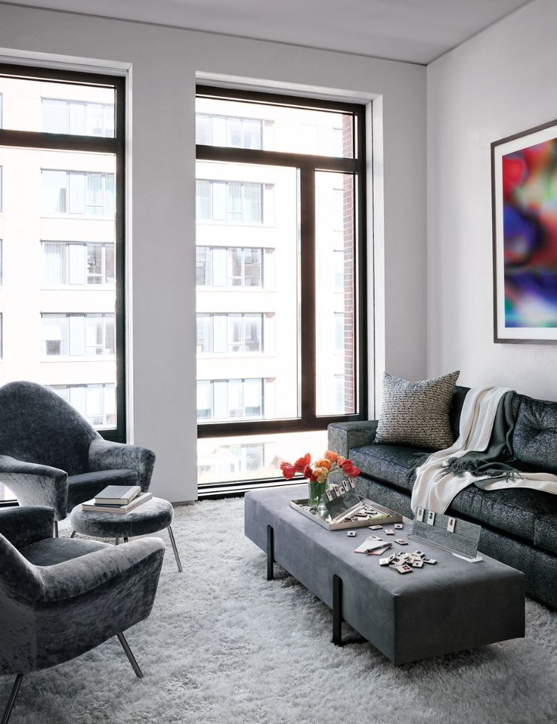 Uptown Glamour Meets Downtown NYC: A Bold Interior Design Project
