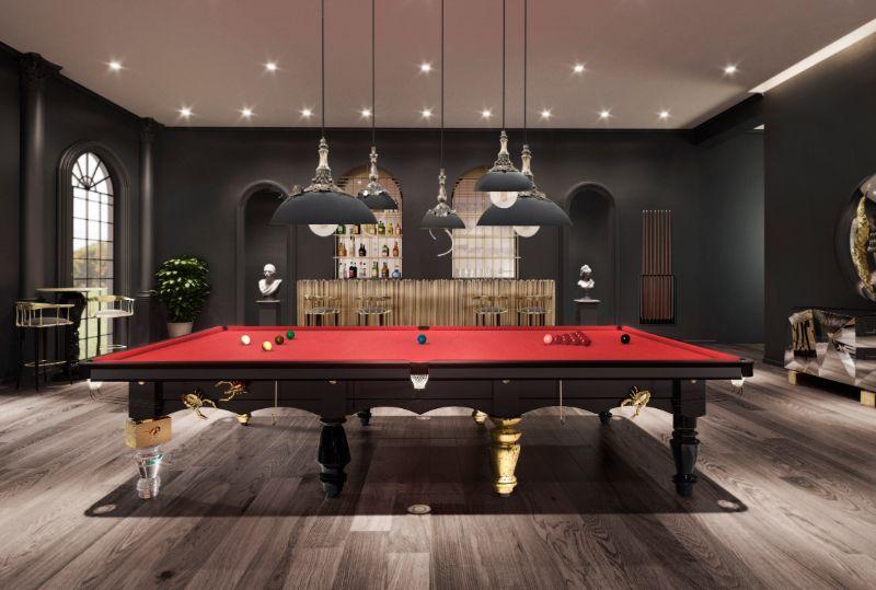 The Metamorphosis English Snooker - Furniture Invaded by Bugs snooker table The Metamorphosis Snooker Table – Furniture Invaded by Bugs ambience metamorphosis snooker 2
