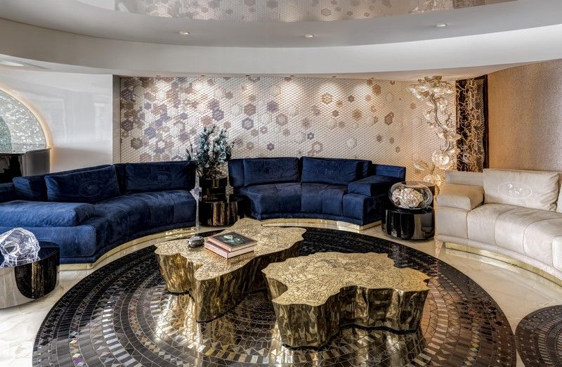 A Luxury Apartment With Imposing An Imposing Living Room luxury apartment A Luxury Apartment With Imposing An Imposing Living Room Celebrate Design With ZZ Architects 6